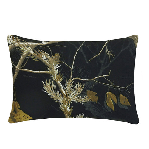 Realtree AP Black Oblong Pillow