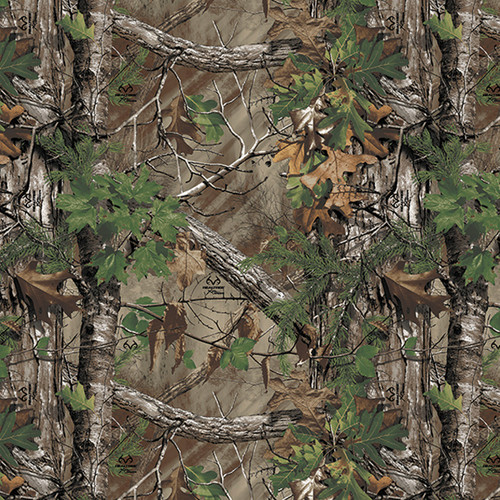Realtree Camo Large Perforated Window Film Free Shipping