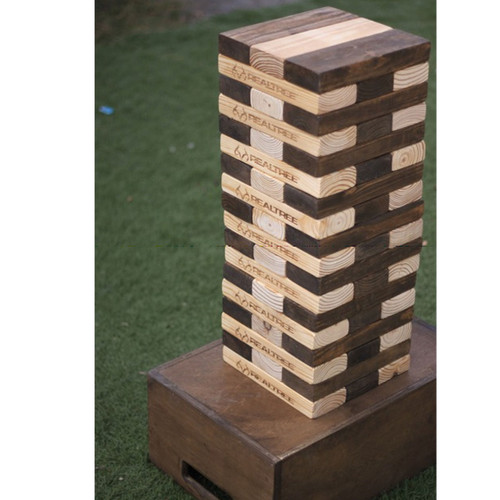 Realtree Giant Jenga Tumble Yard Set