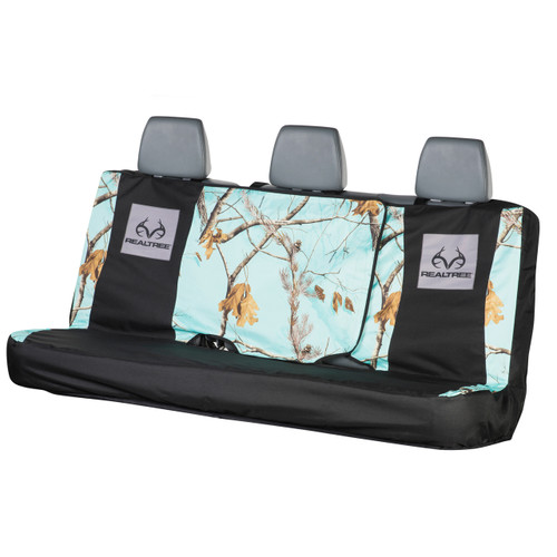 Realtree Mint Camo Switch Back Bench Seat Cover