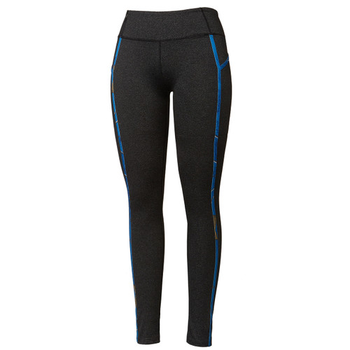 Realtree Women's Blue Camo Active Leggings Side