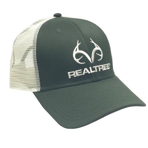 Realtree Green Performance Antler Logo Mesh Back Hat