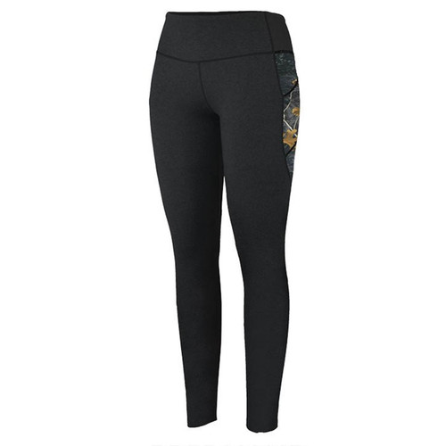 Realtree Women's Camo Accented Workout Leggings