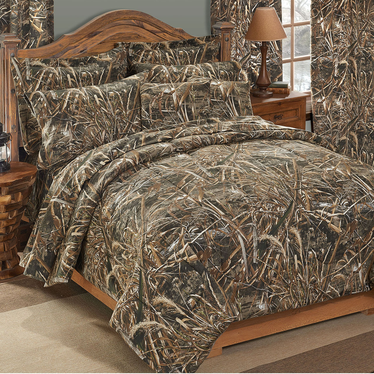 camo bedroom set.  Realtree Max 5 Camo Comforter Sets Free Shipping New Bedding
