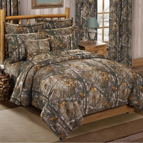 Realtree Xtra Camo Comforter Sets Realtreecom New Camo Bedding - Black and grey camouflage comforter set