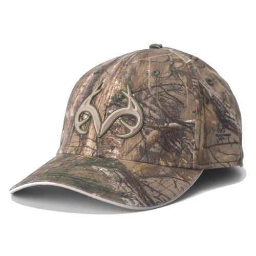 Realtree Xtra 3D Antler Logo Fitted Hat