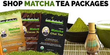 Shop Matcha Tea Packages