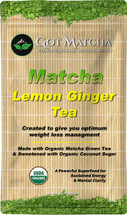 Matcha LEMON-GINGER Organic Blended Tea 150 Grams