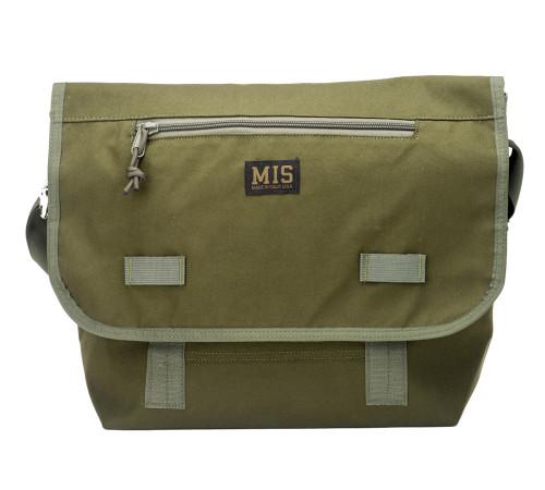 Messenger Bag - Olive Drab - Front