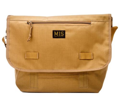 Messenger Bag - Coyote Brown - Front