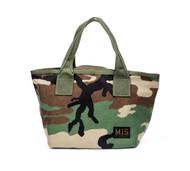 Mini Tote Bag - Woodland Camo