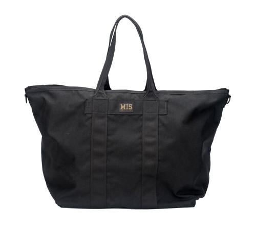 Super Tote Bag - Black - Front