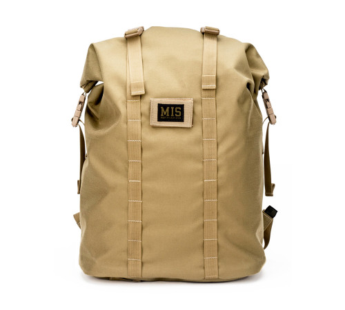 Roll Up Backpack - Coyote Tan - Front
