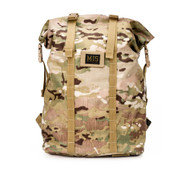 Roll Up Backpack - Multi Cam - Front