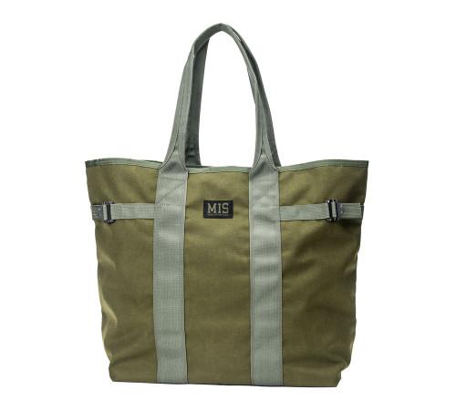 Multi Tote Bag - Olive Drab - Front