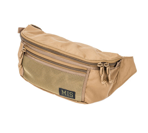 Mesh Waist Bag - Coyote Brown - Front