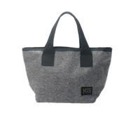 Mini Tote Bag - Denim Grey - Front