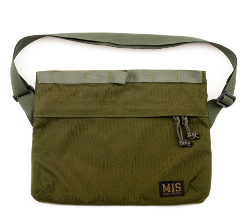 Padded Shoulder Bag - Olive Drab