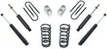 """1982-2004 Chevy S-10 2/3"""" Lowering Kit - MaxTrac K330123"""