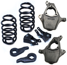 """2000-2006 Chevy Tahoe 2wd/4wd 3/4"""" Lowering Kit - MaxTrac K331034"""