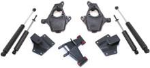 """1999-2006 GMC Sierra 1500 2wd/4wd 2/4"""" Lowering Kit - MaxTrac KS330924"""
