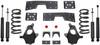 "1999-2006 Chevy Silverado 1500 2wd 3/5"" Lowering Kit - MaxTrac KS330935"