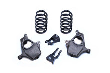"""2007-2013 Chevy Avalanche 2wd/4wd 2/3"""" Lowering Kit - MaxTrac KS331223"""