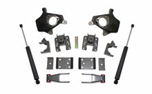 "2007-2013 GMC Sierra 2wd/4wd 2/4"" Lowering Kit - MaxTrac KS331324"