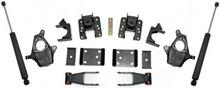 """2014-2016 GMC Sierra 1500 2wd/4wd (1pc Drive Shaft) 2/4"""" Lowering Kit - MaxTrac KS331524T"""