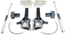 """2015-2018 Ford F150 2wd MaxPro 4.5"""" Front 3"""" Rear Lift Kit W/ MaxTrac Shocks - MaxTrac K883243"""