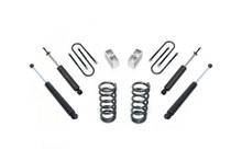 """1982-2004 Chevy S-10 2wd 3/4"""" Lowering Kit - MaxTrac K330134"""