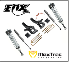 "2015-2017 Chevy Colorado 2wd 6.5"" Lift Kit W/ Fox Coil Overs & Shocks - MaxTrac K880463F"