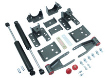 "2007-2013 Chevy Silverado 1500 2wd/4wd 3-4"" Adj. Rear Flip Kit W/ MaxTrac Shocks - MaxTrac 201340"