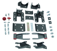 "2014-2018 Chevy Silverado 1500 2wd/4wd 3-4"" Adj. Rear Flip Kit And Shock Extenders - MaxTrac 201540"