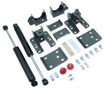 "2007-2013 GMC Sierra 1500 2wd/4wd 5-6"" Adjustable Rear Flip Kit W/ MaxTrac Shocks - MaxTrac 201360"