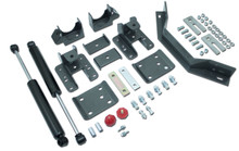 "2014-2018 Chevy Silverado 1500 (Long Wheel Base) 5-6"" Adj. Rear Flip Kit W/ Carrier Bearing And MaxTrac Shocks - MaxTrac 201360LB"