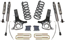 """2002-2008 Dodge RAM 1500 4.7L V8 2wd 7""""/4"""" Lift Kit W/ FOX Shocks - MaxTrac K882170F"""