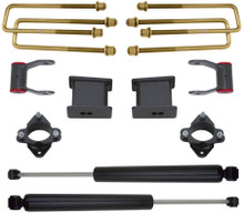 "2007-2018 Chevy Silverado 1500 2wd 2"" Front 4"" Rear Lift Kit W/ MaxTrac Shocks - MaxTrac 901555"