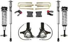 """2016-2018 GMC Sierra 1500 2wd W/ Stamped Steel And Aluminum Suspension 7""""/4"""" Lift Kit W/ Fox Shocks - MaxTrac K881575F"""