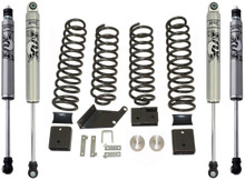 "2007-2016 Jeep Wrangler JK 2wd/4wd 3"" Lift Kit W/ FOX Shocks - MaxTrac K889730F"