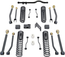 "2007-2016 Jeep Wrangler JK 2wd/4wd 4.5"" Coil Lift Kit W/ Front Track Bar And Adjustable Arms (No Shocks) - MaxTrac K889745A"