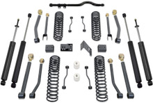 "2007-2016 Jeep Wrangler JK 2wd/4wd 4.5"" Coil Lift Kit W/ Front Track Bar, Adjustable Arms & MaxTrac Shocks - MaxTrac K889745SA"