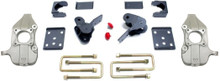 "2015-2018 Ford F-150 2wd 2/4"" Lowering Kit W/ No Shocks - MaxTrac K333224-NS"