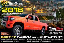 """2007-2018 Toyota Tundra 4wd 6"""" Lift Kit W/ MaxTrac Shocks - MaxTrac K946764"""