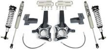 """2009-2014 Ford F-150 2wd W/O Factory Blocks 6.5/4"""" MaxTrac Lift Kit W/ FOX Shocks - K883464F"""