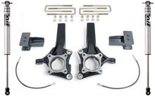 """2009-2014 Ford F-150 2wd (W/O Factory Blocks) 4""""/2"""" MaxTrac Lift Kit W/ FOX Shocks - K883442F"""