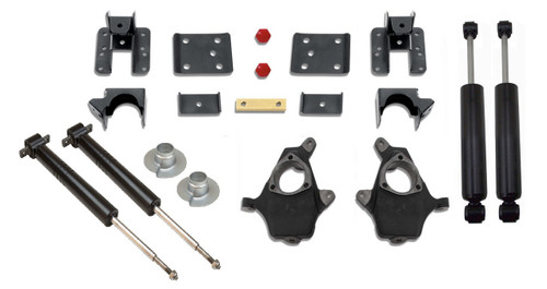 2007-2016 Chevy & GMC 1500 2wd Adjustable 3/5, 4/6 & 5/7 Premium Drop Kit - K34170