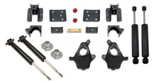 2007-2016 Chevy & GMC 1500 2wd Adjustable 3/5, 4/6 & 5/7 Premium Drop Kit - K34170