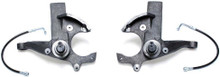 """1982-2004 Chevy S-10 2wd 3"""" Lift Spindles W/ Extended Brake Lines - MaxTrac 700130"""