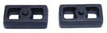 "2001-2010 Chevy Silverado 1500HD 2wd/4wd 1"" Cast Lift Blocks - MaxTrac 810010"